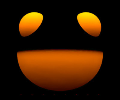 Deadmau5 Orange Smile Only Logo